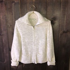 Tommy Bahama Zip Up Cardigan Sweater